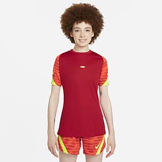 Nike Dri-FIT Strike Kortärmad fotbollströja för kvinnor