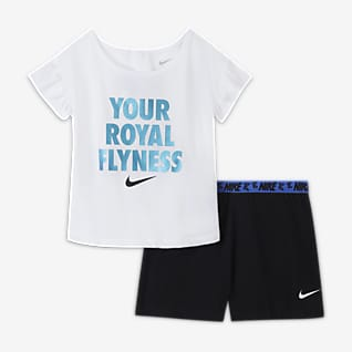 """Nike """"Little Bugs"""" Baby (12-24M) T-Shirt and Shorts Set"""