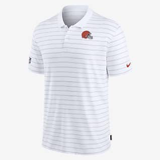 Nike Dri-FIT Sideline Victory Coaches (NFL Cleveland Browns) Men's Polo
