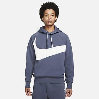 Nike Sportswear Swoosh Tech Fleece Pullover-hættetrøje til mænd