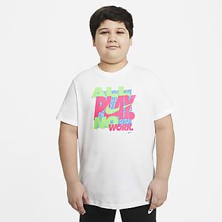 Nike Sportswear Big Kids' (Boys') T-Shirt (Extended Size)