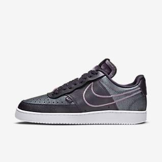 Nike Court Vision Low Premium Scarpa - Donna