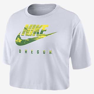 Nike College (Oregon) Women's Cropped T-Shirt