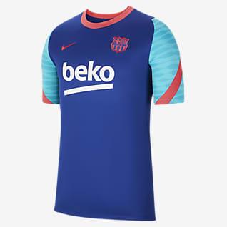 FC Barcelona Strike Kortärmad fotbollströja för män