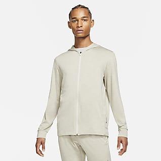 Nike Yoga Dri-FIT Męska kurtka z zamkiem na całej długości