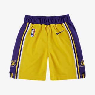 洛杉矶湖人队 Icon Edition Nike NBA Replica 婴童短裤