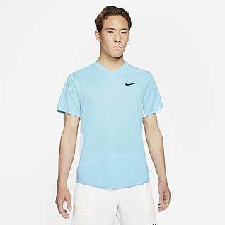 NikeCourt Dri-FIT Victory Prenda para la parte superior de tenis para hombre