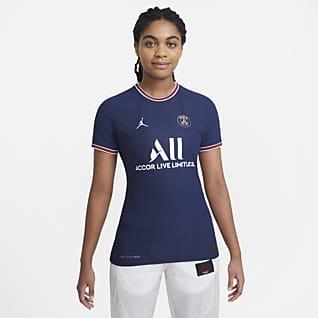 Equipamento principal Match Paris Saint-Germain 2021/22 Camisola de futebol Nike Dri-FIT ADV para mulher