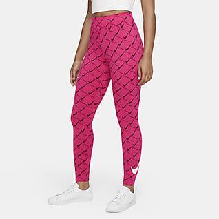 Nike Sportswear Leggings de cintura subida para mulher