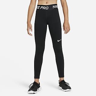 Nike Pro Warm Тайтсы для девочек школьного возраста