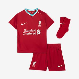 Liverpool FC de local 2020/21 Kit de futbol para bebé e infantil