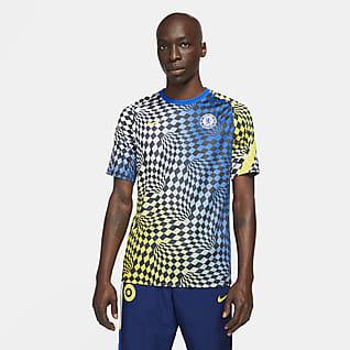 Chelsea FC Top de fútbol para antes del partido para hombre Nike Dri-FIT