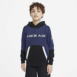 Nike Air 大童(男孩)起绒套头连帽衫