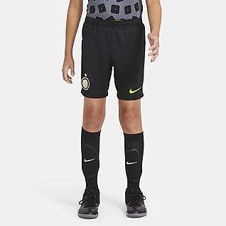 Inter Milan 2020/21 Stadium Third Shorts de fútbol para niños talla grande