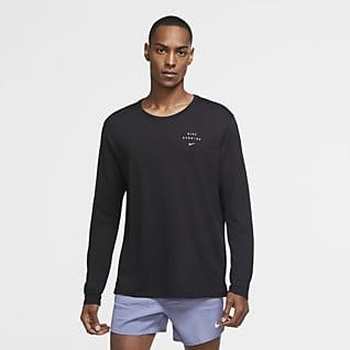 Nike Miler Run Division 男子长袖跑步上衣