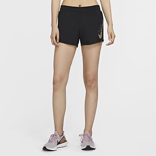 Nike Icon Clash 10K กางเกงวิ่งขาสั้นผู้หญิง
