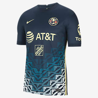 Club América visitante 2021/22 Stadium Jersey de fútbol para hombre