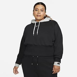 Nike Sportswear Icon Clash Women's Easy Fleece Hoodie (Plus Size)