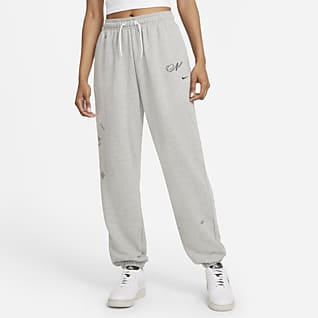 Nike Sportswear Icon Clash Γυναικείο παντελόνι φόρμας σε φαρδιά γραμμή