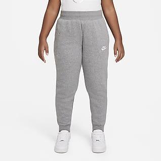 Nike Sportswear Club Fleece Bukse til store barn (jente) (utvidet størrelse)