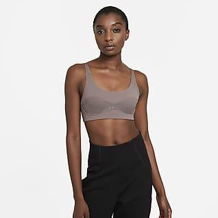 Nike Dri-FIT City Ready Ovadderad sport-BH med lätt stöd för kvinnor