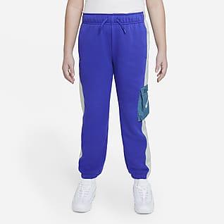 Nike Sportswear Heritage Pantalones de French Terry para niña talla grande (talla extendida)