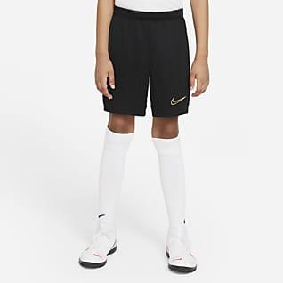 Nike Dri-FIT Academy Shorts de fútbol tejidos para niños talla grande