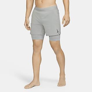 Nike Yoga Pánské kraťasy 2v1