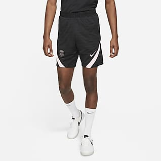 Paris Saint-Germain Strike Uit Nike voetbalshorts met Dri-FIT voor heren