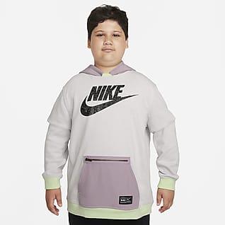 Nike Sportswear KP DNA Big Kids' Hoodie (Extended Size)