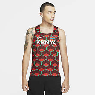 Nike Dri-FIT ADV Team Kenya AeroSwift Camiseta sin mangas de running para hombre