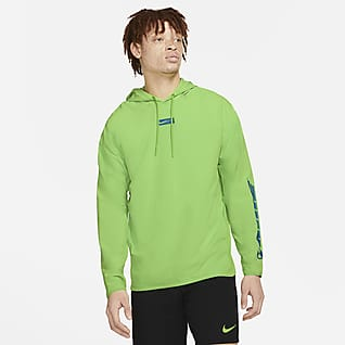 Nike Sport Clash Vævet pullover-træningshættetrøje til mænd