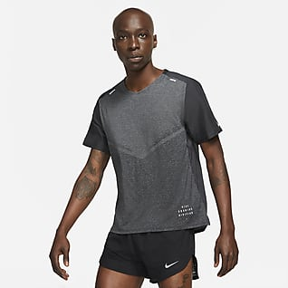 Nike Techknit Ultra Run Division Men's Short-Sleeve Running Top