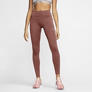 Nike Fast 女款中腰跑步內搭褲