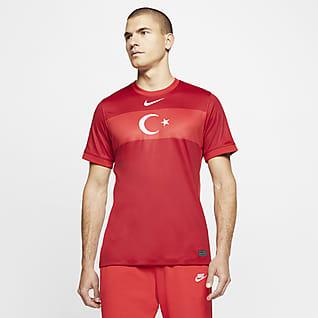 Camiseta de visitante de Turquía 2020 Stadium Camiseta de fútbol para hombre