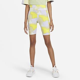 Nike Sportswear Shorts de ciclismo de cintura alta para mujer