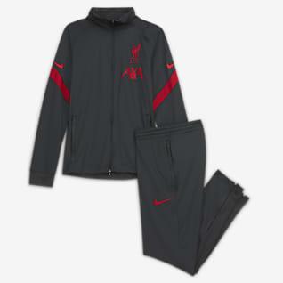 Liverpool FC Strike Футбольный трикотажный костюм для школьников