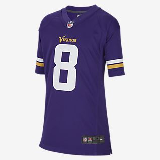 NFL Minnesota Vikings (Kirk Cousins) Big Kids' Game Football Jersey