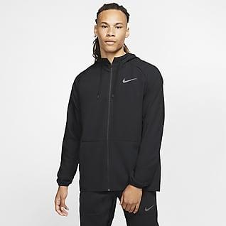 Nike Flex Hosszú cipzáras férfi melegítőfelső