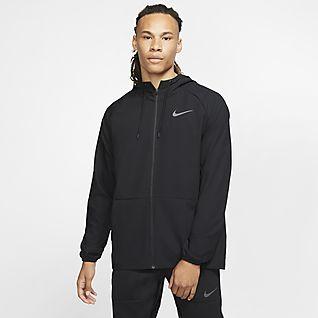 Nike Flex Träningsjacka med hel dragkedja för män