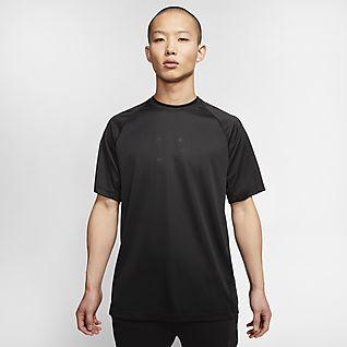 Nike Sportswear Tech Pack Ανδρική κοντομάνικη πλεκτή μπλούζα