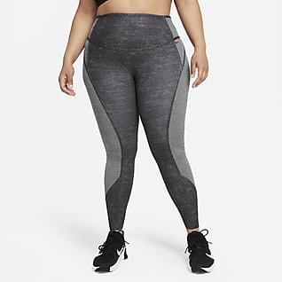 Nike Dri-FIT One Luxe Women's Mid-Rise Leggings (Plus Size)