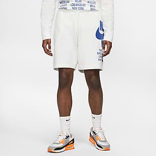 Nike Sportswear Pantalons curts de teixit French Terry - Home