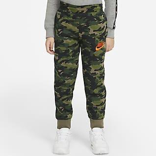 Nike Pantalones camuflados para niño talla pequeña