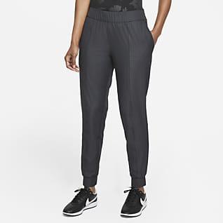 Nike Dri-FIT UV Victory Golfjoggingbroek met ruitprint voor dames