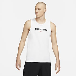 Nike Dri-FIT เสื้อกล้ามเทรนนิ่งผู้ชาย
