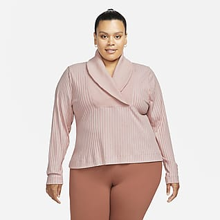 Nike Yoga Luxe Women's Ribbed Cover-Up (Plus Size)