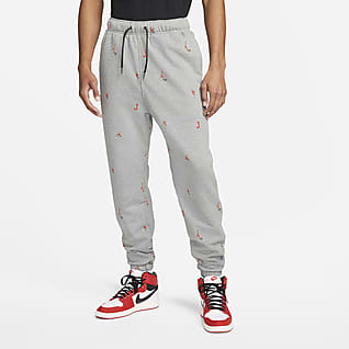 Jordan Essentials Fleece-Hose mit Print für Herren