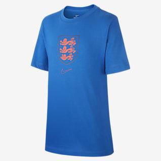England Older Kids' Football T-Shirt