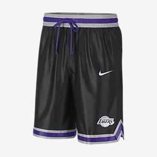 Los Angeles Lakers Courtside กางเกงขาสั้น Nike NBA ผู้ชาย